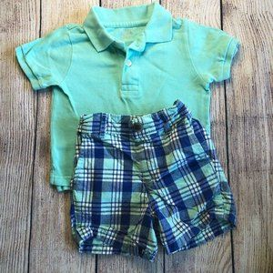 Boys 12-18 months summer shorts outfit
